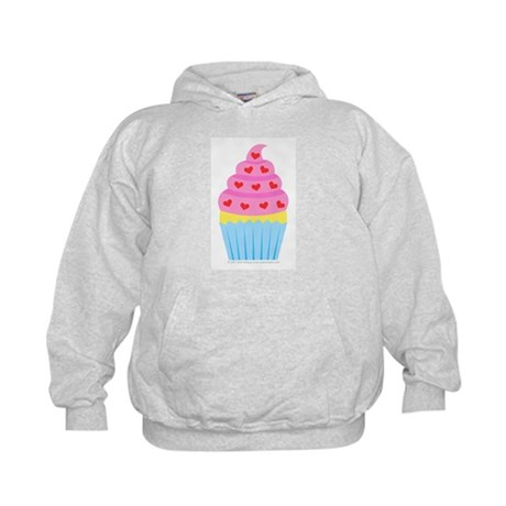 Cupcake Love Kids Hoodie