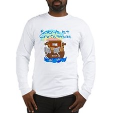 Noahs Ark 1st Christmas 2013 Long Sleeve T-Shirt