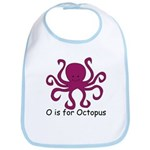 O is for Octopus Bib