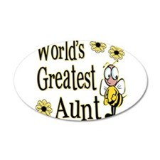 Beeworldsgreatestaunt copy.png Wall Decal