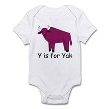Y is for Yak Infant Bodysuit