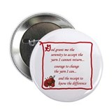 "Yarnaholic prayer 2.25"" Button (100 pack)"