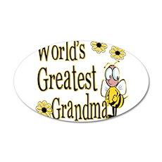 Beeworldsgreatestgrandma copy.png 35x21 Oval Wall