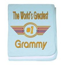 GREENgrammy.png baby blanket