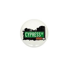 Cypress Av, Bronx, NYC  Mini Button (10 pack)