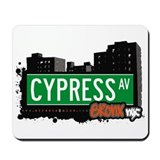 Cypress Av, Bronx, NYC  Mousepad
