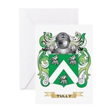 Tully Family Crest (Coat of Arms) Greeting Card