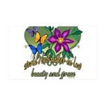 Butterflymotherinlaw.png 35x21 Wall Decal