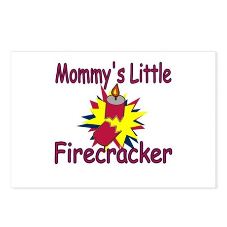 Mommy's Little Firecracker Postcards (Package of 8