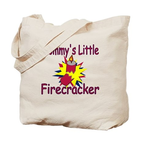 Mommy's Little Firecracker Tote Bag