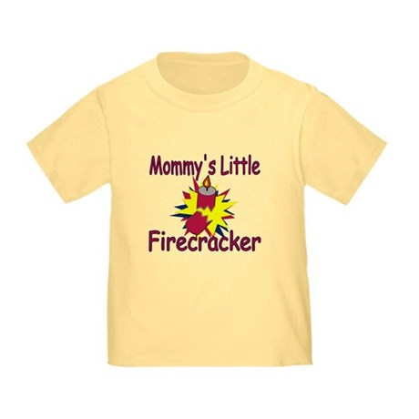 Mommy's Little Firecracker Toddler T-Shirt