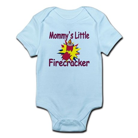 Mommy's Little Firecracker Infant Bodysuit