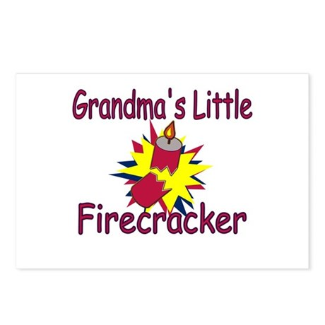 Grandma's Little Firecracker Postcards (Pkg 8)