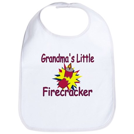 Grandma's Little Firecracker Bib