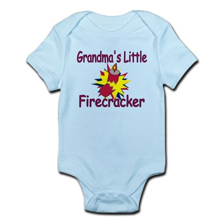 Grandma's Little Firecracker Infant Bodysuit