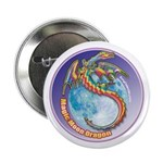 "Magic Moon Dragon 2.25"" Button (100 pack)"