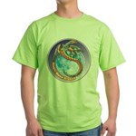 Magic Moon Dragon Green T-Shirt