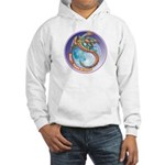 Magic Moon Dragon Hooded Sweatshirt
