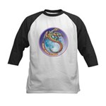 Magic Moon Dragon Kids Baseball Jersey