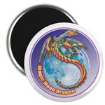 "Magic Moon Dragon 2.25"" Magnet (100 pack)"
