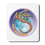 Magic Moon Dragon Mousepad