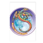 Magic Moon Dragon Postcards (Package of 8)