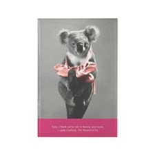 """Mr. Douglas' Koalas"" Book Rectangle Magnet"