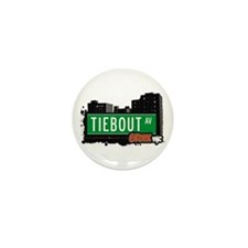 Tiebout Av, Bronx, NYC  Mini Button (10 pack)