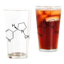 Nicotine Chemistry funny geek design light Drinkin