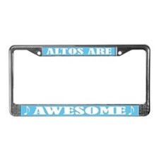 Funny Alto License Plate Frame