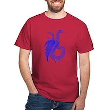 Blue Plumed Serpent T-Shirt