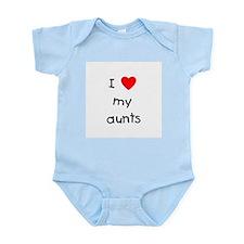 I love my aunts Infant Bodysuit