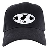 Black & White Moose Knuckles Cap