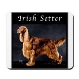 Irish Setter Mousepad
