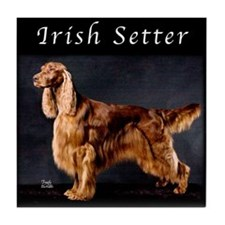 Irish Setter Tile Coaster