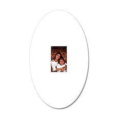 JB-RituSasha 20x12 Oval Wall Decal