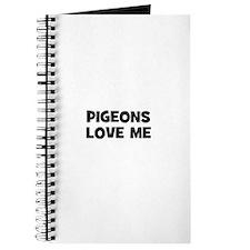 pigeons love me Journal