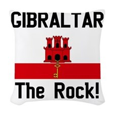 Gibraltar - Front and Back Woven Throw Pillow