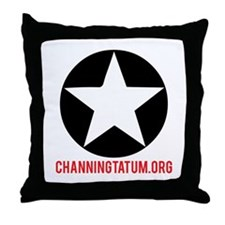 ChanningTatum.org Throw Pillow