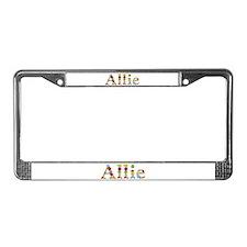 Allie Bright Flowers License Plate Frame