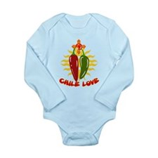 CHILE LOVE! Long Sleeve Infant Bodysuit