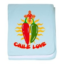 CHILE LOVE! baby blanket