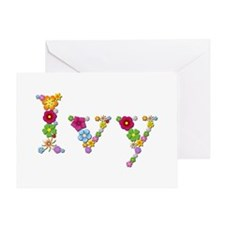 Ivy Bright Flowers Greeting Card