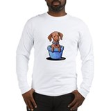 Potted Doxie Long Sleeve T-Shirt