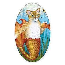 Cat Mermaid 27 Decal