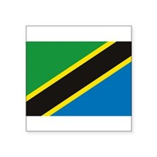 Tanzania Flag Rectangle Sticker