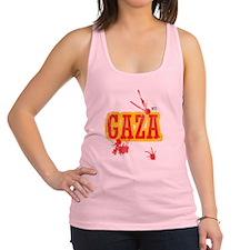 Gaza blood T shirts Racerback Tank Top