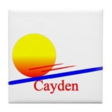 Cayden Tile Coaster
