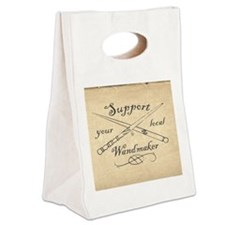 Support your local Wandmaker w b Canvas Lunch Tote