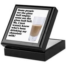 Chocolate Milk Keepsake Box